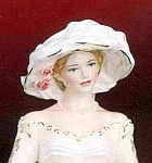 Louisa Figurine - Coalport's 'The Royal Garden Party'