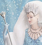 Royal Worcester's Fantasy Collection - the intriguing 'Snow Queen' captured in bone china by Peter Holland