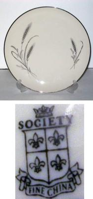 Society Fine China - Pattern: Harvest Time