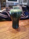 Art Pottery Vase With Large Brown stamp - Chinese?