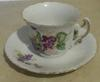 One of the cups and saucers