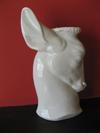 Stag head vase - Variation of Standard Royal Worcester mark on stag head vase