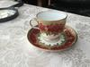 Flying Wing Crown Mark on Great Aunt Zina's China Cup and Saucer