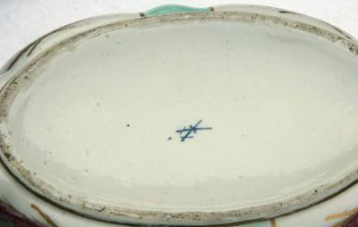 Meissen Type Mark on Tureen