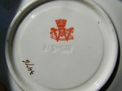 'W over C' (Crown above) Pottery Mark Query - {editors note: Could It Be Wileman & Co, Foley China?}