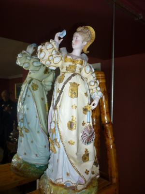 Anchor mark on Romeo & Juliet Porcelain Figurines pre 1920