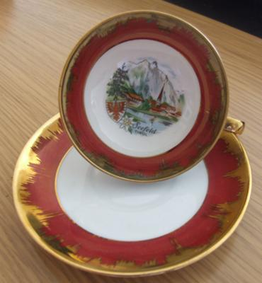 Antique China China Query - Jacob Hertel Bavaria Germany and Lutz Austria - the cup and saucer!