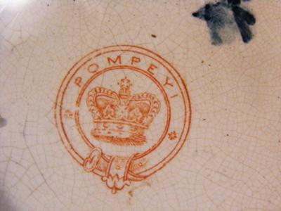 Antiques & Fine China Collectibles Query - CROWN MARK AND POMPEYI MARK