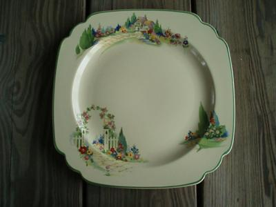 China Mark Query - Wells with a peacock