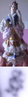 Collectible Figurines - Period Costume Lady