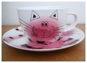 cup faced plate dunoon-fine-bone-china