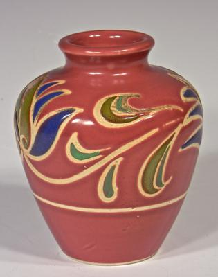 Bulbous Vase - unknown impressed mark