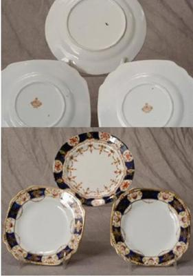 Have you ever seen these? - Royal Vale Antique Bone China Plates