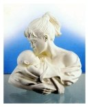 Mother Child Bust - 'Sweet Child of Mine' Royal Worcester Figurine
