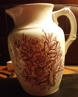 Pottery mark on Pitcher - G & S or GSH & Co or SGH or HGS or GHS