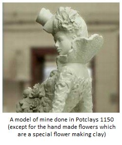 example of a sculpture done in ceramic modelling clay potclays 1150