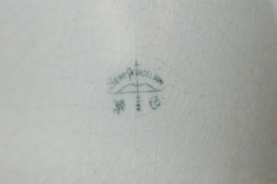 Pottery mark Query - Bow and Arrow with Semi-Porcelain Written