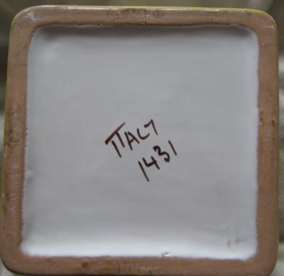 Back stamp Pottery Mark Query -