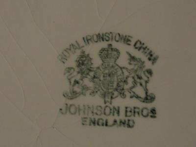 My Wash Basin - Johnson Bros Mark