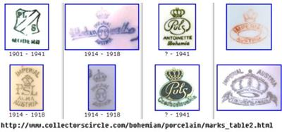 PSL Imperial Empire Pottery Mark