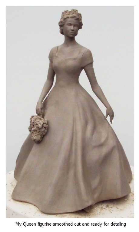 Detailing ceramic sculpture<br><small><small>click icon to enlarge photo further</small></small>