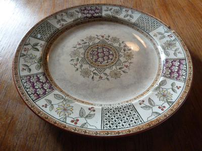 Morocco Plate topside