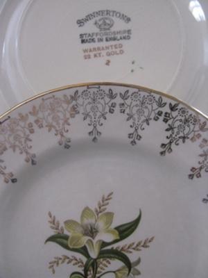 Swinnertons Antique Staffordshire bone china