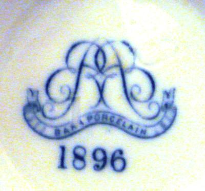 Unusual Royal Worcester Barr Pottery Mark 1896