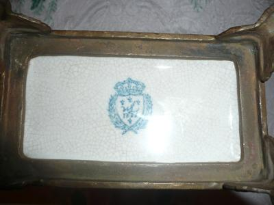 W.L. Pottery Mark Query - Is It An Original?